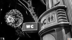 WChristmas (Alesfra) Tags: christmas street city light blackandwhite panor