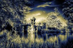 Le parc de Majolan - Bordeaux (Tonee Gee) Tags: park blue trees lake france flower tree yellow cat canon landscape squirrel dubai bordeaux surreal bamboo graves emirates khalifa 630 parc burj topaz hoya tiffen 720 590 majolan superblue g1x