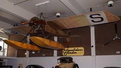 Thulin B (Morane-Saulnier G) in Malm (J.Com) Tags: b house museum force sweden g aircraft aviation air swedish science naval malmo saulnier thulin morane