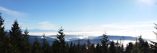Inversion fog covers the Lower Mainland