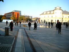 Prishtina (Genti_B) Tags: city november autumn europa europe capital kosova kosovo balkans pristina 2014 prishtina evropa prishtine vjeshta nentor ballkan qytet republicofkosovo republikaekosoves kosovoinunesco