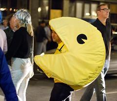 Pacman (San Diego Shooter) Tags: girls portrait halloween girl sandiego streetphotography downtownsandiego sexyhalloweencostumes 2014halloween sandiegohalloween2014