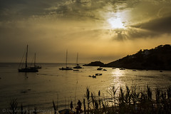 Ibiza Island (ivokivistikphotography) Tags: sea sky sun seascape history landscape funny rocks paradise secret sunny cliffs atlantis ibiza es balearic vedra esvedra ivokivistik ivokivistikphotography