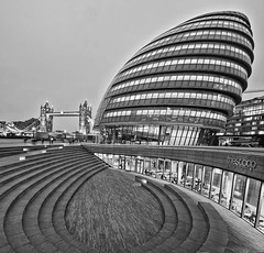 City Hall (Steve012345 - 1/2 a million thanks.) Tags: city uk england london thames river south bank scoop