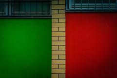 green-red (olipennell) Tags: building deutschland gebude redgreen fassade badenwrttemberg kurpark rotgrn badrappenau