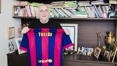 """!Francisco Javier Fernandez¡ Tostão: """"En los últimos 20 años, el Barça es el equipo que más me ha impresionado"""""""