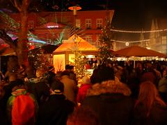 P1480022 Detmolder Advent 2014 (tottr) Tags: weihnachten december advent weihnachtsmarkt laser dezember rathaus lasershow weihnacht marktplatz lightart 2014 detmold detmolderadvent uweacker