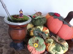 Abboras (Criao Exclusiva da Ane) Tags: halloween patchwork mesa cozinha chimarro tecidos bruxas moranga abboras