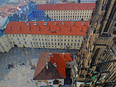Courtyard 2 (tubblesnap) Tags: old castle st town republic view czech prague cathedral praha aerial vitus