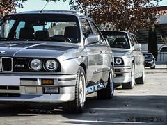 BMW M3 E30/2S '89 (GonzaloFG) Tags: detail slr ford chevrolet car skyline honda spain italia nissan ferrari camaro mclaren enzo bmw gto jaguar mustang m3 ducati audi lamborghini rs m6 m5 challenge avant v8 rs2 spotting s2000 e30 nsx gallardo amg drifting rs4 typer gtr trackday murcielago etype quattro gt40 f40 r8 f12 rs6 v12 f50 nismo e46 r34 e36 berlinetta superleggera 458 899 m3csl desmosedici panigale ftype 275gtb rs3 e92 circuitodeljarama stralade m235i