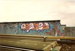 Cesmes (DrGarageland) Tags: amsterdam wall graffiti piece cesmes