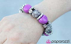 Glimpse of Malibu Purple Bracelet K2 P9613-5
