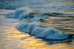 Olas (xanfer) Tags: olas auga solpor augas praiaesteiro