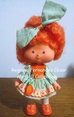 Coleo Moranguinho, Laranjinha, Estrela 1986 (gigifernandes@rocketmail.com) Tags: strawberry doll estrela 80s boneca shortcake moranguinho laranjinha