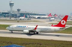 TURKISH A/L B737 TC-JGJ (Adrian.kissane) Tags: istanbul turkish b737 34408 tcjgj