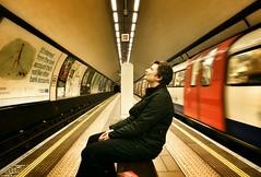 The Day We Caught The Train (Su--May) Tags: underground claphamcommontubestation razorlove london2015