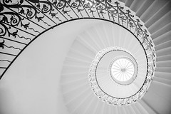 The Tulip Staircase (GarethThomasJones) Tags: camera blackandwhite london architecture canon amazing greenwich staircase tulip dslr spiralstaircase londoncity canonefs1785mmf456isusm canon1785mm tulipstairs canon60d filmandphotosociety gareththomasjones thequeenshouse