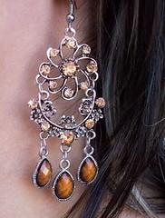 5th Avenue Brown Earrings K1 P5310-3