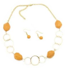 5th Avenue Gold Necklace P2010-3