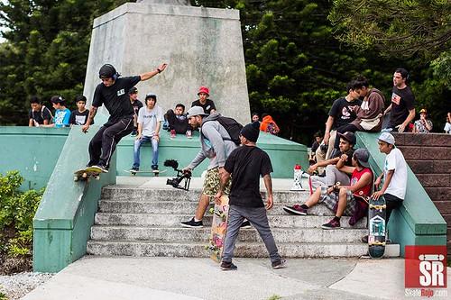 Primer Skate Rojo Best Trick Contest Guatemala