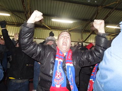 GOAL! Dwight Gayle scores (Paul-M-Wright) Tags: football crystal soccer january saturday palace v match 17 fans moor premier bfc turf league supporters burnley 2015 cpfc