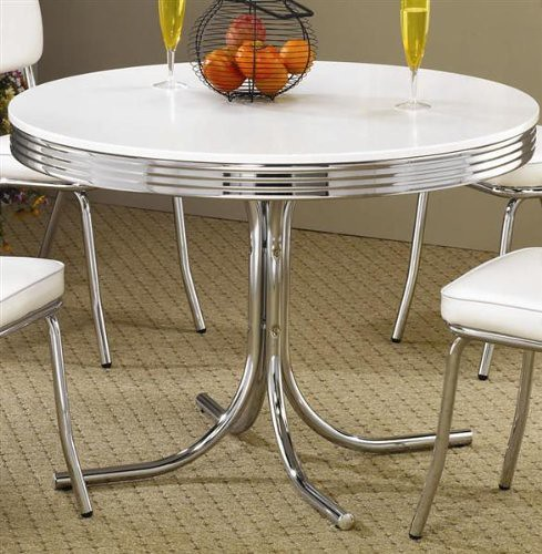 Vintage Chrome Kitchen Table: The World's Best Photos Of Dinette And Retro