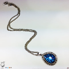 Druzy Deep Blue Glitter Teardrop Pendant on Silver Cable Chain with Lobster Clasp and Bauble Detail- JuxtaRosed/EAJoseph Design Studio 2016 All rights reserved (juxtarosed) Tags: 1920s usa detail classic shop glitter vintage silver studio joseph design necklace costume inch long artist elizabeth cut antique michigan large property cable jewelry drop diamond sparkle chain round fancy pear etsy tear teardrop 18 jewels bale rhinestone bauble cushion glittery platinum seller inches bail timeless 1920 sparkley baubles jeweled classy detailed bejeweled copyrighted plated jewlry 18in druzy 18inch etsyshop justarose etsyseller chartertownshipofclinton eajoseph justarosed juxtarose juxtarosed