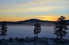 Winter sunset (M Corbin Photography) Tags: winter lake frozen frozenlake