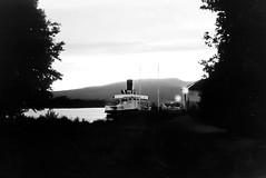 PS Maid of the Loch at dusk (Clyde Rivers) Tags: scotland calmac balloch lochlomond steamers paddlesteamer maidoftheloch countessofbredalbane