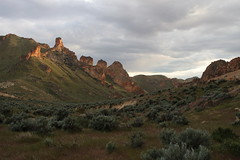 The light was just perfect (rozoneill) Tags: lake oregon river carlton butte desert hiking painted canyon vale trail backpacking saddle blm uplands owyhee honeycombs