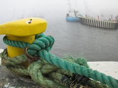 Kinky dockin pole (navarrodave80) Tags: misty fog dave canon harbour pole ropes kinky ustka chmiel dockin