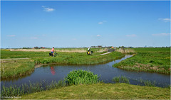 Heiteln - Homeland #39 (Hindrik S) Tags: blue people panorama green water bike bicycle loft landscape canal weide sony nederland meadow bluesky lucht tamron luft friesland homeland weiland landschap sloot a57 2016 frysln sleat greide 16300 fytspaad greidhoeke sonyalpha lnskip fyts nederlandvandaag sonyphotographing slta57 57 tamronaf16300mmf3563dillvcpzdmacrob016 fietspaad