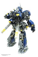 AMS FS88 Fhrungsmaschine Balrog Part 2 Series (Benjamin Cheh) Tags: robot lego mecha moc