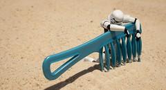 Heat Stroke (aaron.kudja) Tags: toy star sand stormtrooper wars revoltech