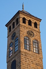 Sarajevo (tm-tm) Tags: tower clock europe bosnia bosna v15 bosniaandherzegovina sarjevo bosnaihercegovina