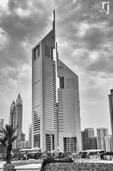 The Emirates Towers, Dubai (RJ-Clicks) Tags: nikon dubai emiratestowers d5100 nikond5100 rjclicks rehanjamil