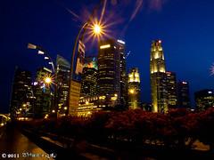 night_5 (Squall EC) Tags: river hotel bay flyer singapore esplanade mbs marinabay raffleshotel singaporeflyer marinabaysands