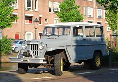 1962 Willys Jeep Station Wagon (rvandermaar) Tags: station wagon jeep import 1962 willys jeepstationwagon willysjeep willysjeepstationwagon sidecode1 am7337