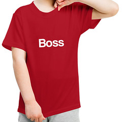 boss t-shirt (rethinkthingsltd) Tags: birthday christmas boss baby home kitchen up liverpool ma design tshirt parry livingroom made card sound mug greetings decor coaster cushion greeting madeup yerma yer scouser ilsa babygrow eeee laffin chocka jarg typograhic arlarse rethinkthings geggin gegginin