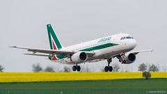 swietlik.eu_160501161141 (a.swietlik) Tags: plane airplane prague aircraft praha praga alitalia samolot prg lkpr eidsb vaclavhavelairport