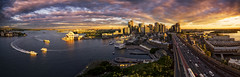 Once a year Sunset (Luke Zeme Photography) Tags: ocean city bridge blue sunset red sea panorama house seascape water skyline architecture clouds photography amazing twilight highway opera long exposure cityscape waterfront view traffic bright harbour outdoor sony awesome sydney australian cityscapes australia lookout masks hour nsw newsouthwales cbd operahouse incredible brilliant puffyclouds luminance vantagepoint luminosity sydneyskyline a7r zeme sydneyseascape bestsydneysunsetlocation