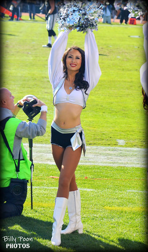 2013 Oakland Raiderette Courtney