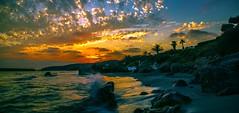 Menorcan sunset (Barry.Turner.Photography) Tags: longexposure sunset sea seascape clouds landscape spain rocks waves sony sigma wideangle menorca mediterraneansea minorca iberianpeninsula balearicislands a65 18250mm barryturner