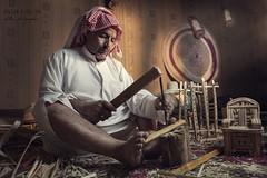 (Sultan alSultan ) Tags: man canon 5d riyadh saudiarabia sculptor         5ds