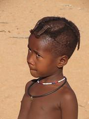 Suspicious look (s_andreja) Tags: africa namibia kamanjab himba village kid