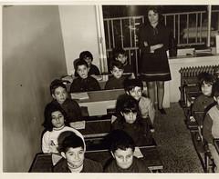 class 2 (reza fakharpour) Tags: school students female iran class teacher iranian 1970s tehran reza mohammad shah pahlavi prerevolution kambiz rassa  rooya   school