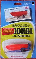 Speedboat on trailer (streamer020nl) Tags: 1970 corgi junior juniors mettoy greatbritain gb diecast metal toys jouets models speelgoed auto car collector card whizzwheels speedboat trailer 19
