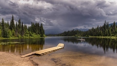 Saving The Words (Wayne Stadler Photography) Tags: pier camping lake bc photographer serene travel britishcolumbia lasalle quiet pristine canada jetty lakes explore dock