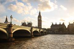Summer Days in London (The Art of Exploring) Tags: bigben westminsterbridge sunset goldenhour london westminster england uk
