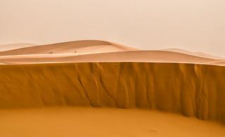 Al desert tot es difumina i canvia de color amb la tempesta de sorra ,_DSC0387